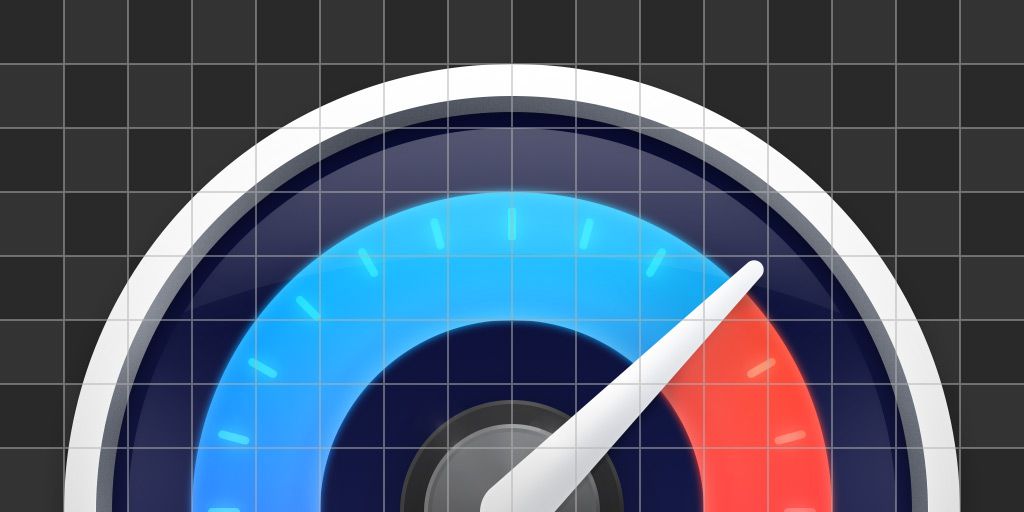 iStat icon on top of a grid